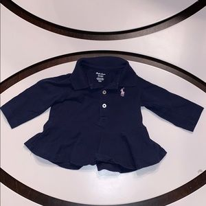 Infant Girls Ralph Lauren Top Size 3 months